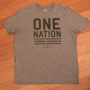 Men's Under Armour tee shirt.